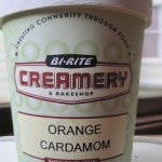 Bi-Right Orange Cardamom Ice Cream