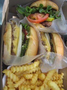Box of burger goodness