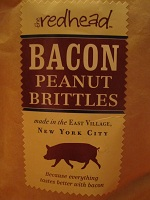 Even peanuts taste better with bacon