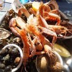 Fruits de Mer in the sunshine