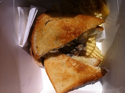 The Grilled Cheese - mushroom cheddar version