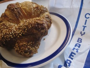 The oft adored City Bakery Pretzel Croissant