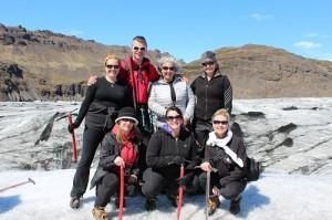Top of the glacier