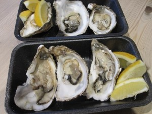 Ultimate take out - Jersey oysters